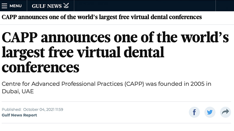 CAPP gets featured in Gulf News – one of the largest Gulf region newspapers
